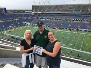Marvin attended 2019 Camping World Bowl - Notre Dame vs. Iowa State on Dec 28th 2019 via VetTix