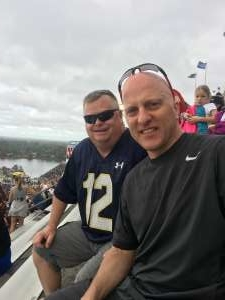 Michael attended 2019 Camping World Bowl - Notre Dame vs. Iowa State on Dec 28th 2019 via VetTix