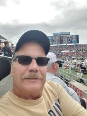 William attended 2019 Camping World Bowl - Notre Dame vs. Iowa State on Dec 28th 2019 via VetTix