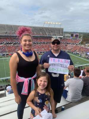 Justin attended 2019 Camping World Bowl - Notre Dame vs. Iowa State on Dec 28th 2019 via VetTix