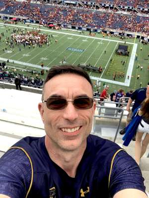 Terence attended 2019 Camping World Bowl - Notre Dame vs. Iowa State on Dec 28th 2019 via VetTix