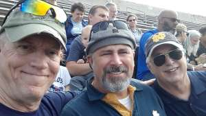 Andrew  attended 2019 Camping World Bowl - Notre Dame vs. Iowa State on Dec 28th 2019 via VetTix