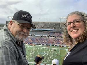 Glendon attended 2019 Camping World Bowl - Notre Dame vs. Iowa State on Dec 28th 2019 via VetTix