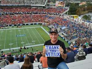 Martin attended 2019 Camping World Bowl - Notre Dame vs. Iowa State on Dec 28th 2019 via VetTix