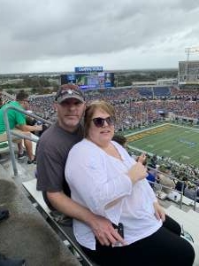 Raymond attended 2019 Camping World Bowl - Notre Dame vs. Iowa State on Dec 28th 2019 via VetTix