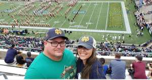 Jacob attended 2019 Camping World Bowl - Notre Dame vs. Iowa State on Dec 28th 2019 via VetTix