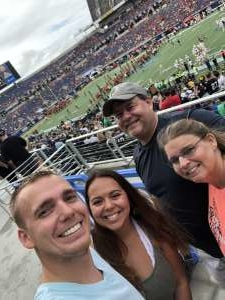 Josh attended 2019 Camping World Bowl - Notre Dame vs. Iowa State on Dec 28th 2019 via VetTix