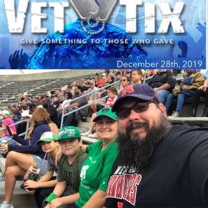 Nina attended 2019 Camping World Bowl - Notre Dame vs. Iowa State on Dec 28th 2019 via VetTix
