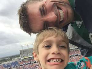 Jeff attended 2019 Camping World Bowl - Notre Dame vs. Iowa State on Dec 28th 2019 via VetTix