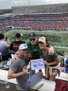 Stephen attended 2019 Camping World Bowl - Notre Dame vs. Iowa State on Dec 28th 2019 via VetTix