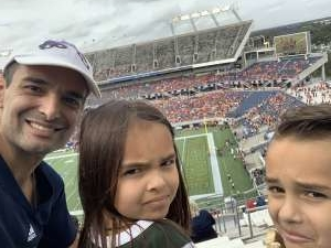 Andre attended 2019 Camping World Bowl - Notre Dame vs. Iowa State on Dec 28th 2019 via VetTix