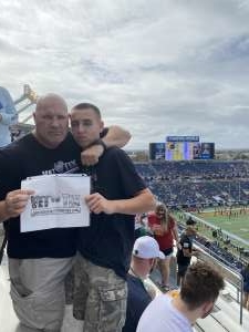 Lance attended 2019 Camping World Bowl - Notre Dame vs. Iowa State on Dec 28th 2019 via VetTix