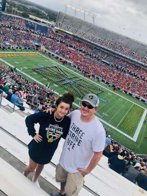 Shaun attended 2019 Camping World Bowl - Notre Dame vs. Iowa State on Dec 28th 2019 via VetTix