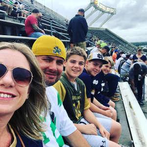 Brandon attended 2019 Camping World Bowl - Notre Dame vs. Iowa State on Dec 28th 2019 via VetTix