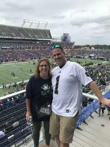Austin attended 2019 Camping World Bowl - Notre Dame vs. Iowa State on Dec 28th 2019 via VetTix