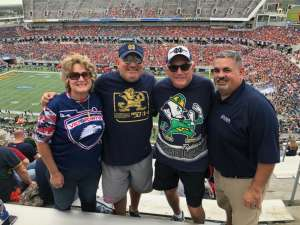 Kevin attended 2019 Camping World Bowl - Notre Dame vs. Iowa State on Dec 28th 2019 via VetTix