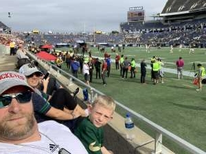 Erroll attended 2019 Camping World Bowl - Notre Dame vs. Iowa State on Dec 28th 2019 via VetTix