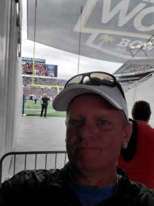 jimmy attended 2019 Camping World Bowl - Notre Dame vs. Iowa State on Dec 28th 2019 via VetTix