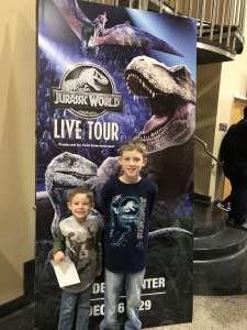 Ashley  attended Jurassic World Live Tour on Dec 27th 2019 via VetTix