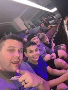 Danny attended Jurassic World Live Tour on Dec 27th 2019 via VetTix
