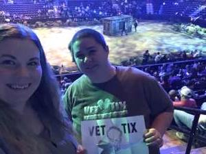 Jennifer attended Jurassic World Live Tour on Dec 27th 2019 via VetTix
