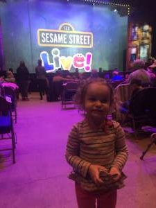 DeAnn attended Sesame Street Live: Make Your Magic on Jan 22nd 2020 via VetTix