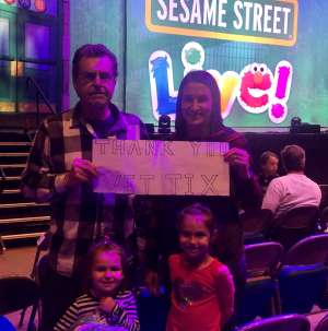 Dennis attended Sesame Street Live: Make Your Magic on Jan 22nd 2020 via VetTix