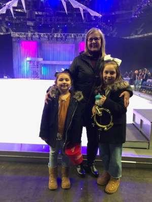 Kelly attended Disney on Ice: Celebrate Memories on Jan 23rd 2020 via VetTix