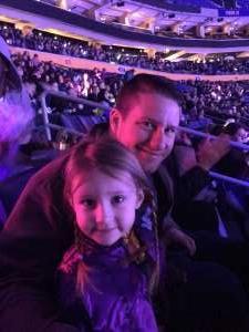 Nicholas attended Disney on Ice: Celebrate Memories on Jan 23rd 2020 via VetTix