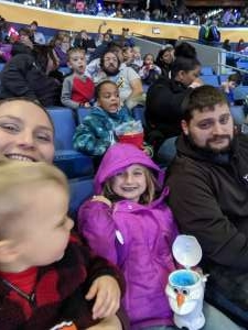 Mary attended Disney on Ice: Celebrate Memories on Jan 23rd 2020 via VetTix