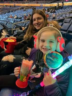 Heather attended Disney on Ice: Celebrate Memories on Jan 23rd 2020 via VetTix