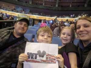 Todd attended Disney on Ice: Celebrate Memories on Jan 23rd 2020 via VetTix