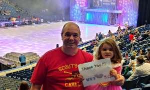 Kevin attended Disney on Ice: Celebrate Memories on Jan 23rd 2020 via VetTix