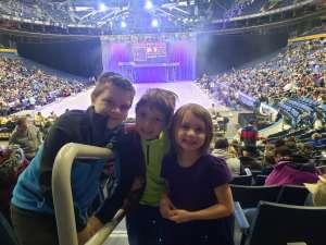 Chris attended Disney on Ice: Celebrate Memories on Jan 23rd 2020 via VetTix