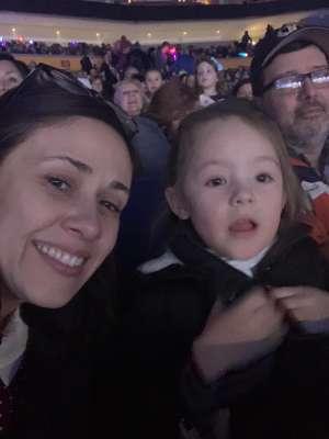 Andrew attended Disney on Ice: Celebrate Memories on Jan 23rd 2020 via VetTix