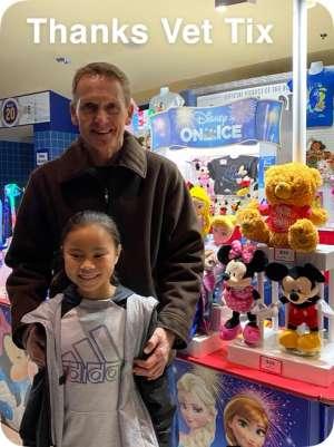 Douglas attended Disney on Ice: Celebrate Memories on Jan 23rd 2020 via VetTix