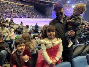Kelley attended Disney on Ice: Celebrate Memories on Jan 23rd 2020 via VetTix