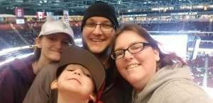 Jessica attended Arizona Coyotes vs. Anaheim Ducks - NHL on Jan 2nd 2020 via VetTix