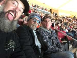 Aaron attended Arizona Coyotes vs. Anaheim Ducks - NHL on Jan 2nd 2020 via VetTix