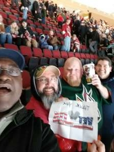 David attended Arizona Coyotes vs. Anaheim Ducks - NHL on Jan 2nd 2020 via VetTix