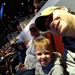 Benjamin attended Arizona Coyotes vs. Anaheim Ducks - NHL on Jan 2nd 2020 via VetTix