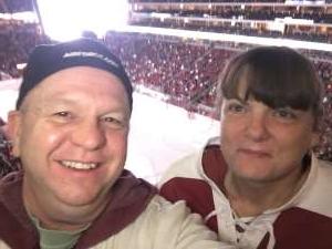 Drew attended Arizona Coyotes vs. Anaheim Ducks - NHL on Jan 2nd 2020 via VetTix