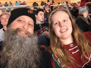 Paul attended Arizona Coyotes vs. Anaheim Ducks - NHL on Jan 2nd 2020 via VetTix