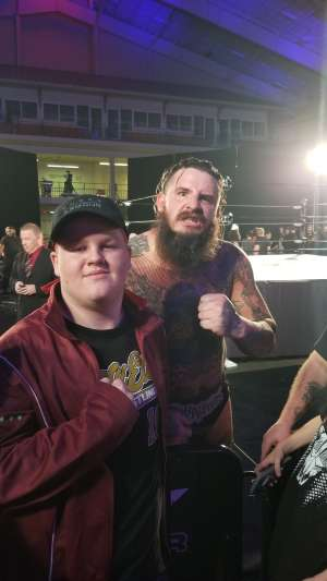 Kenneth attended Ring of Honor - Honor Reigns Supreme on Jan 12th 2020 via VetTix