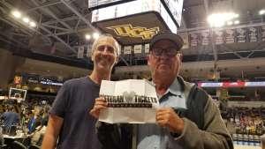 Eliot attended UCF Knights vs. UCONN - NCAA Women's Basketball on Jan 16th 2020 via VetTix