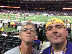 Christopher attended 2020 College Football Playoff National Championship - LSU Tigers vs. Clemson Tigers on Jan 13th 2020 via VetTix