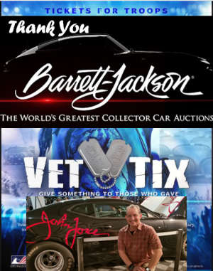 JOHN attended 49th Annual Barrett-jackson Auction Company - Scottsdale 2020 - Friday on Jan 17th 2020 via VetTix