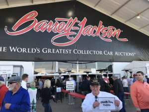 Gerald attended 49th Annual Barrett-jackson Auction Company - Scottsdale 2020 - Friday on Jan 17th 2020 via VetTix