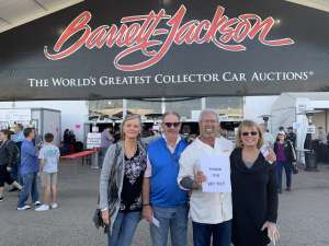 Gerry attended 49th Annual Barrett-jackson Auction Company - Scottsdale 2020 - Friday on Jan 17th 2020 via VetTix