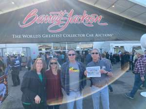 Robert attended 49th Annual Barrett-jackson Auction Company - Scottsdale 2020 - Friday on Jan 17th 2020 via VetTix